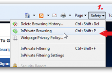 How to Start Private Browsing on a PC