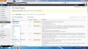 install google analytics code wordpress