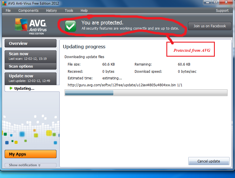 AVG updated