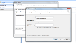 outlook express configuration