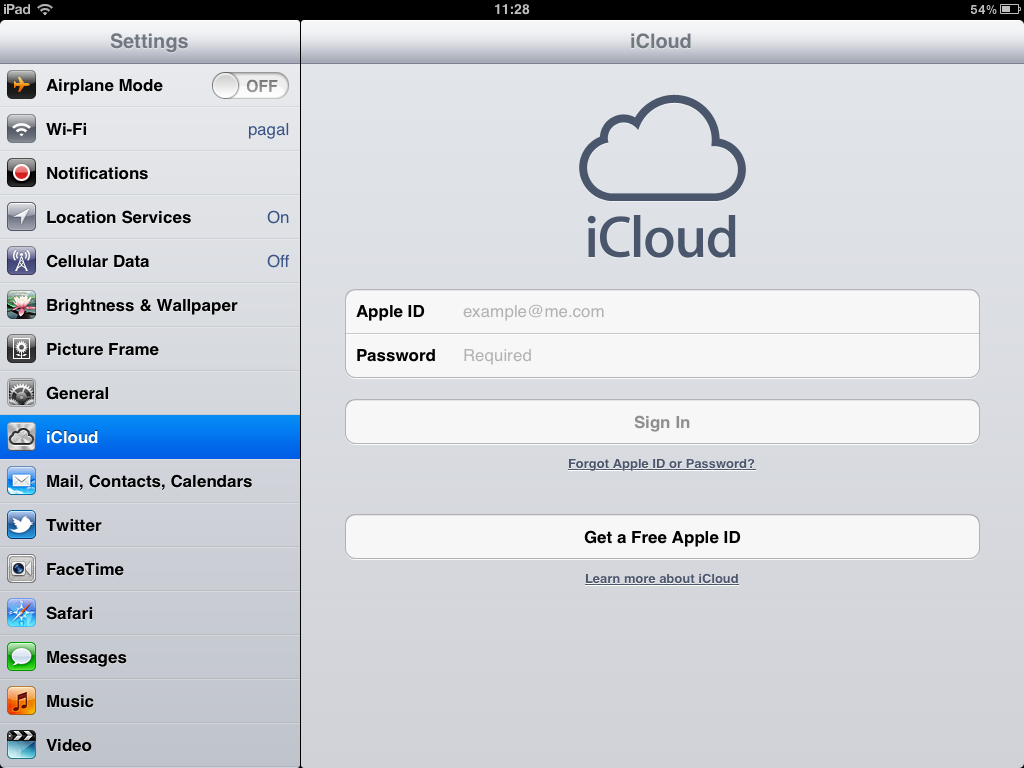 Find and Secure iPhone or iPad - iOS iCloud Setup