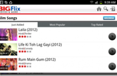 BigFlix Android App – Watch Bollywood Movies, Music Video and Trailers