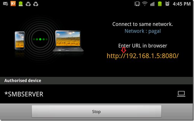 Samsung Kies Air 192 168 8080 apps kies air main