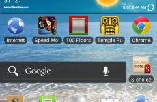 Samsung Galaxy Note Android ICS 4.0.3 update via Kies