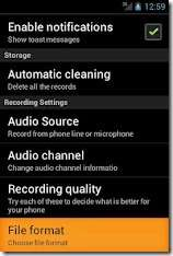 Auto Call Recording App on Android Phone
