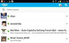 Skype App for Android