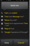 Android Voice Commands and Voice Actions