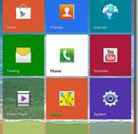 Windows 8 Tile Theme on Android