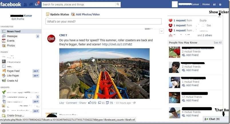 Facebook for better social communication