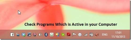 how to make your computer run faster - View Active programs
