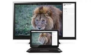 chromecast with laptop