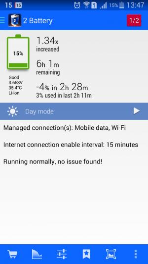 2 Battery - Battery Saver App