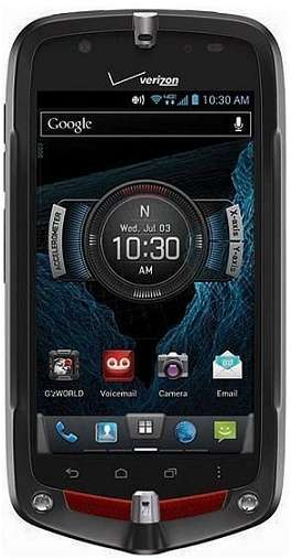 Casio G'zOne Commando 4G LTE Water Drop Proof Smartphones