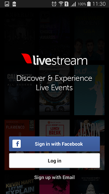LiveStream Android live TV app