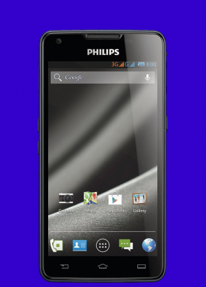 Philips-w6610 long battery life smartphone