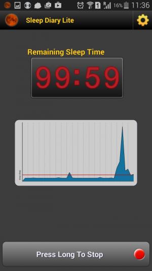 Sleep Diary Lite Graphical sleep monitoring