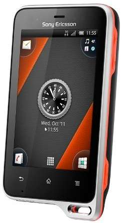 Sony Ericsson Xperia active Water, Dust and Drop Proof Smartphones