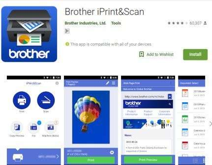 Brother iPrint&Scan Android App